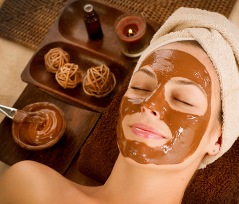 chocolate layered facial